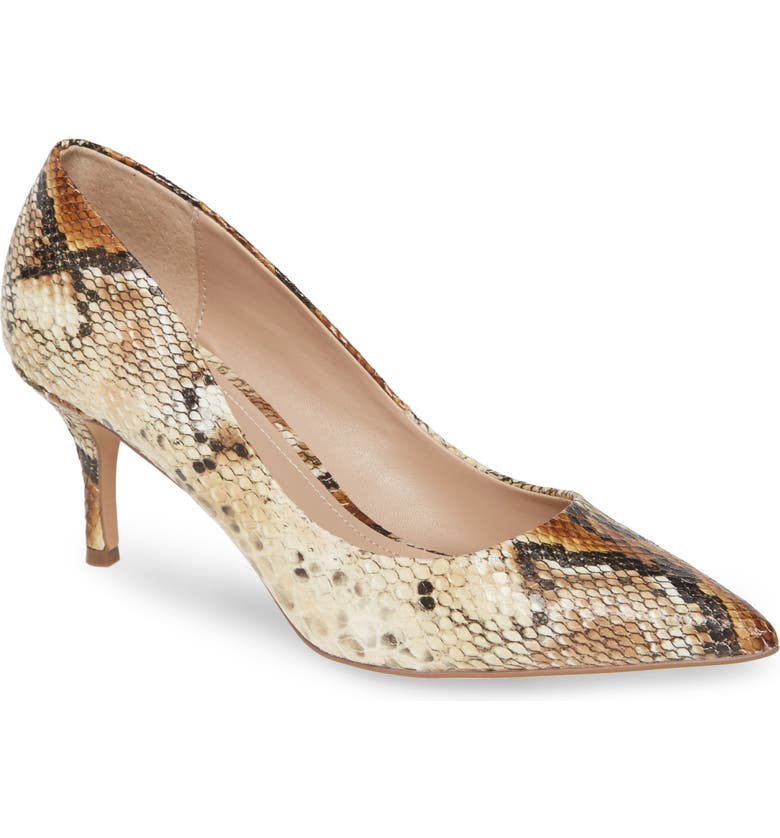 CHARLES BY CHARLES DAVID Addie Pump, Main, color, NATURAL