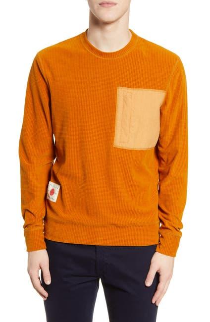 Image of Billy Reid Grid Pocket Pullover