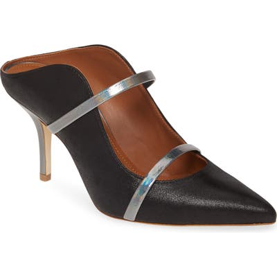 Malone Souliers Maureen Double Band Mule - Black