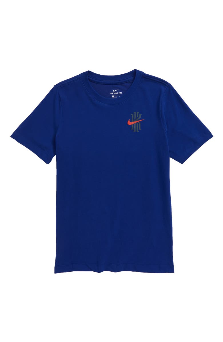 NIKE Kyrie Graphic Dri-FIT T-Shirt, Main, color, DEEP ROYAL BLUE