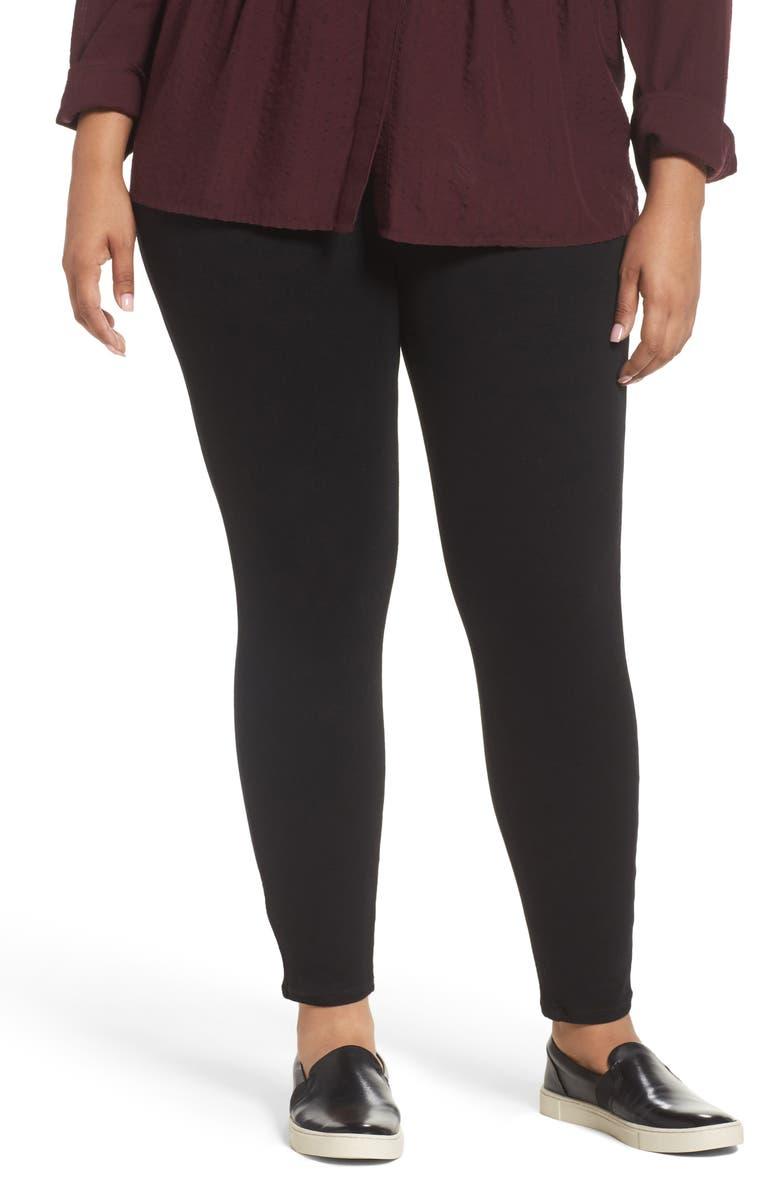 SPANX<SUP>®</SUP> Jean-ish Leggings, Main, color, BLACK
