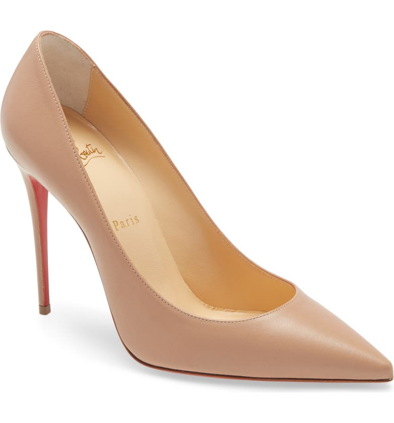 CHRISTIAN LOUBOUTIN 'Decollete' Pointy Toe Pump, Main, color, 254
