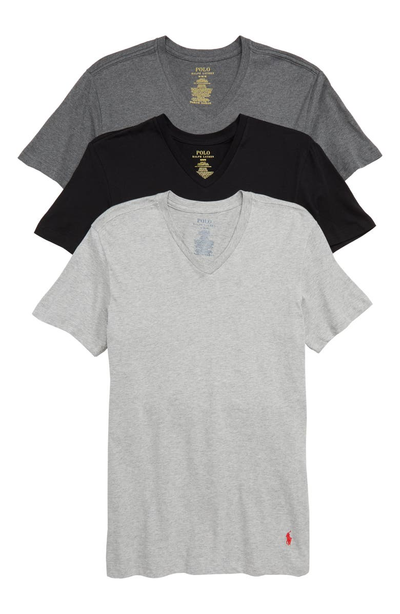 a7e450d5af Polo Ralph Lauren 3-Pack Slim Fit V-Neck T-Shirts