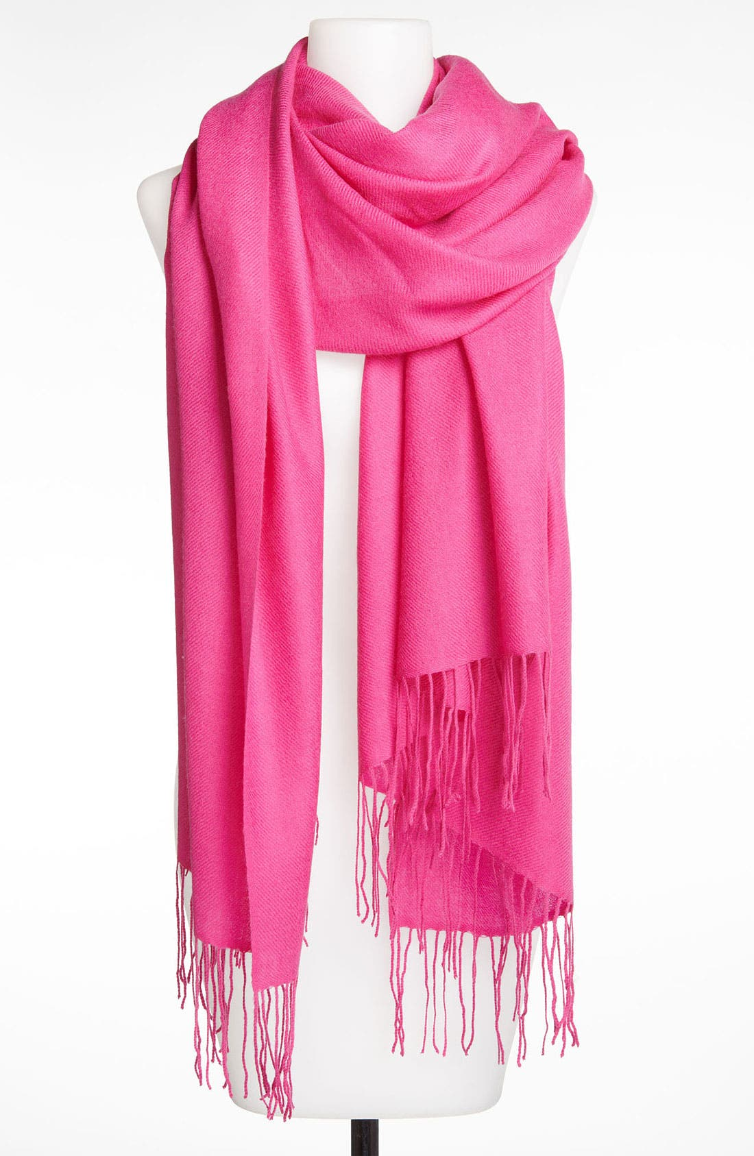 ,                             Tissue Weight Wool & Cashmere Wrap,                             Main thumbnail 185, color,                             674