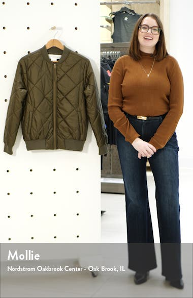 Quilted Bomber Jacket, sales video thumbnail