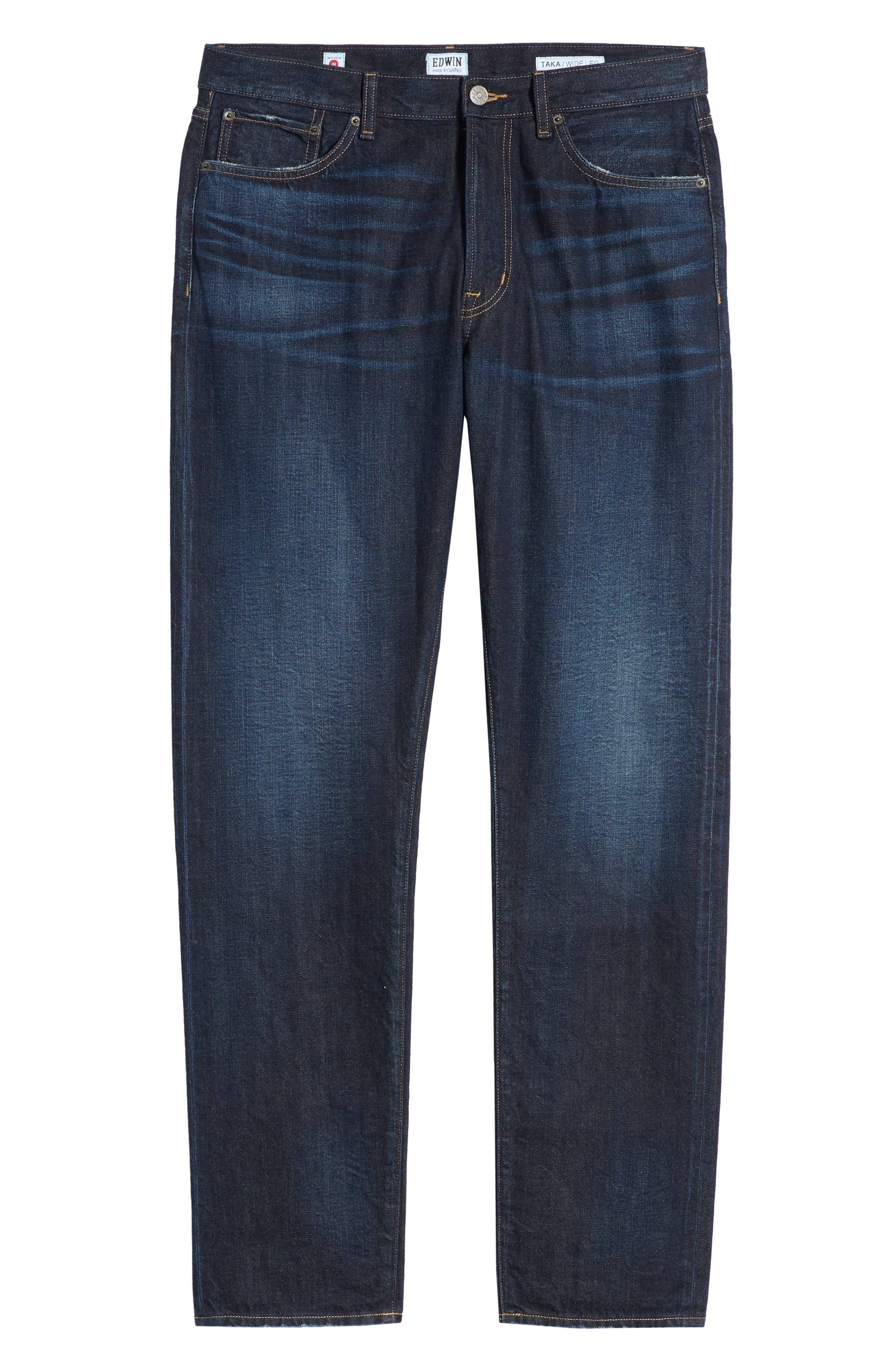 ,                             Taka Straight Leg Jeans,                             Alternate thumbnail 7, color,                             GARRISON