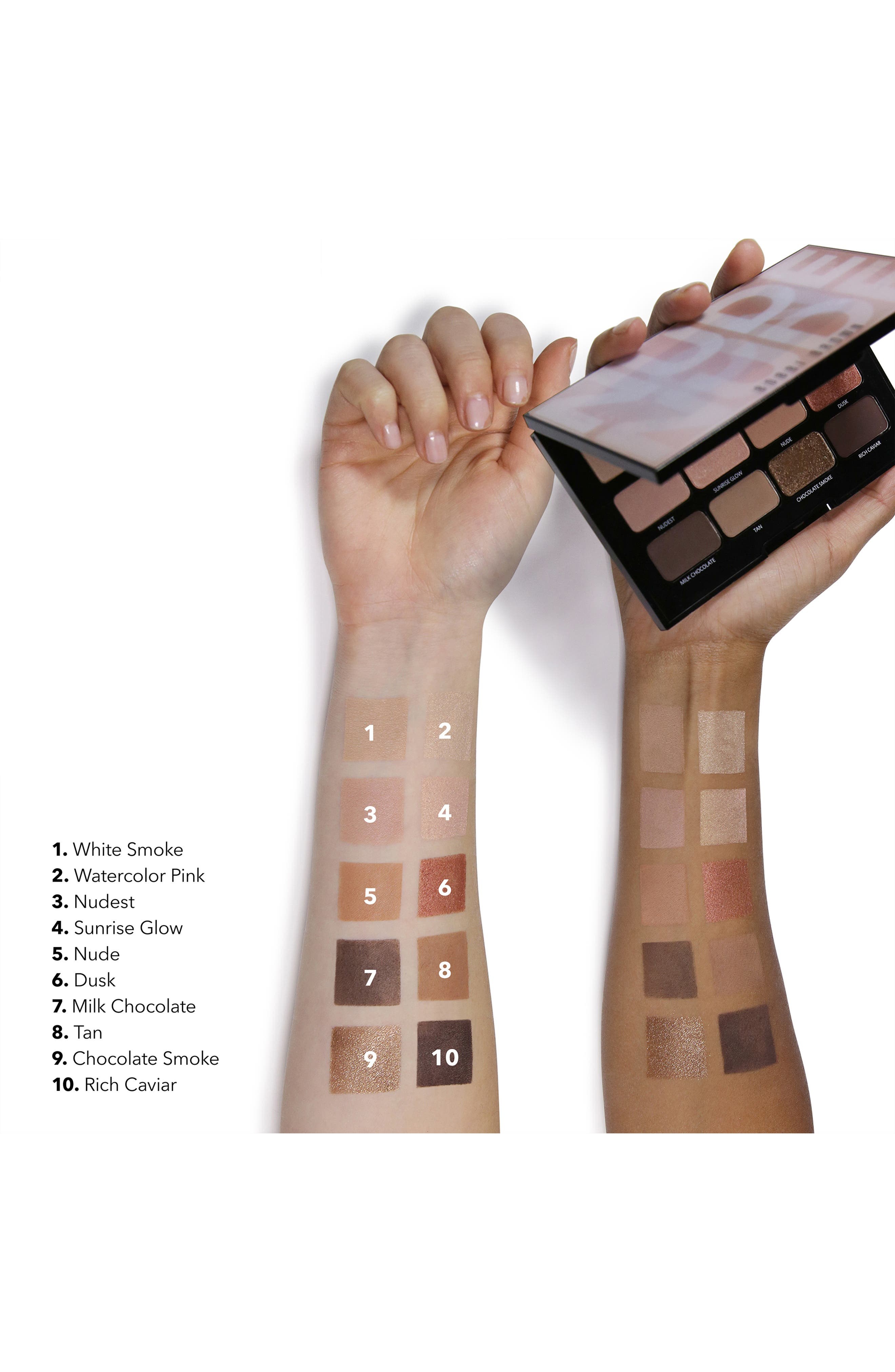 ,                             Nude on Nude Eyeshadow Palette,                             Alternate thumbnail 9, color,                             650
