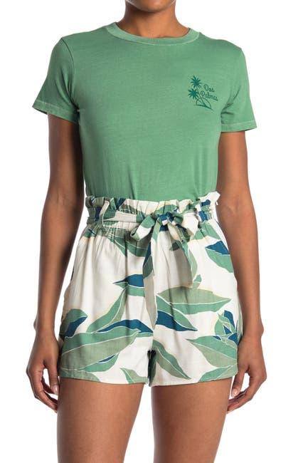Image of Billabong Dos Palmas Crop T-Shirt