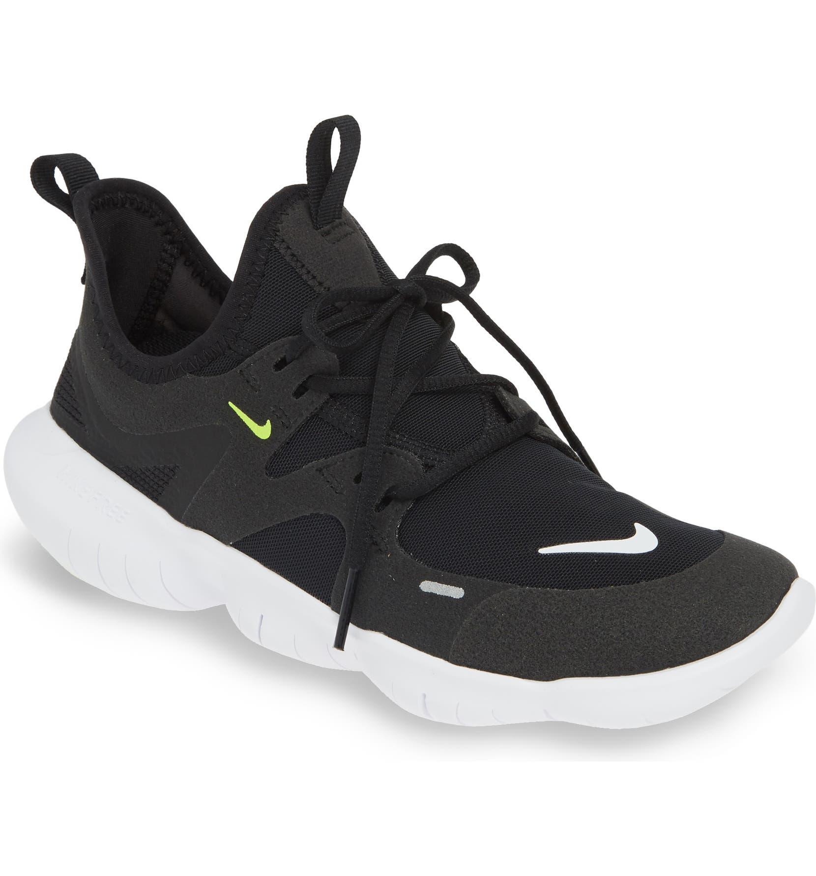 Nike free run 5.0 sneakers in black