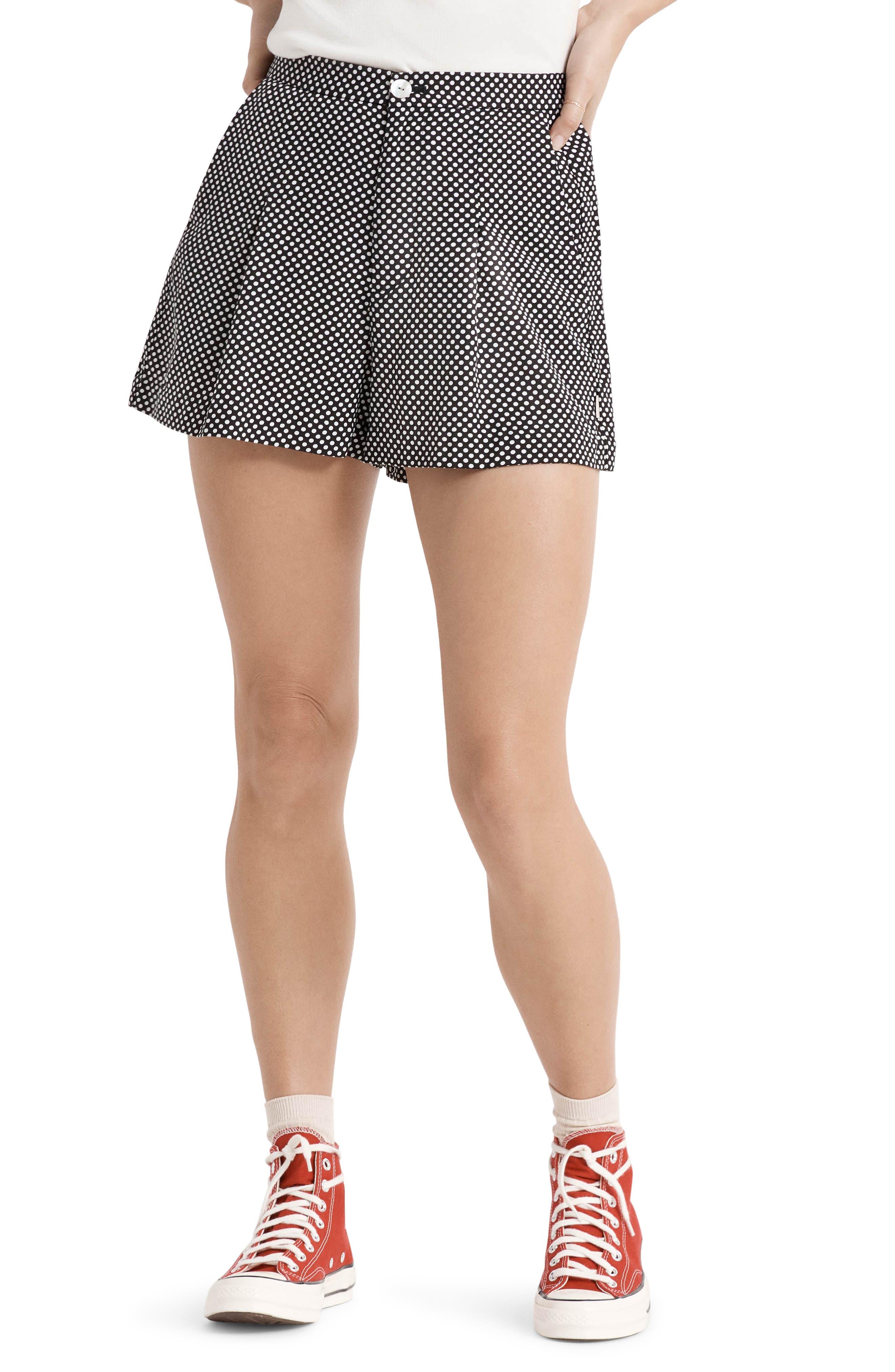 Night Fever Polka Dot Shorts