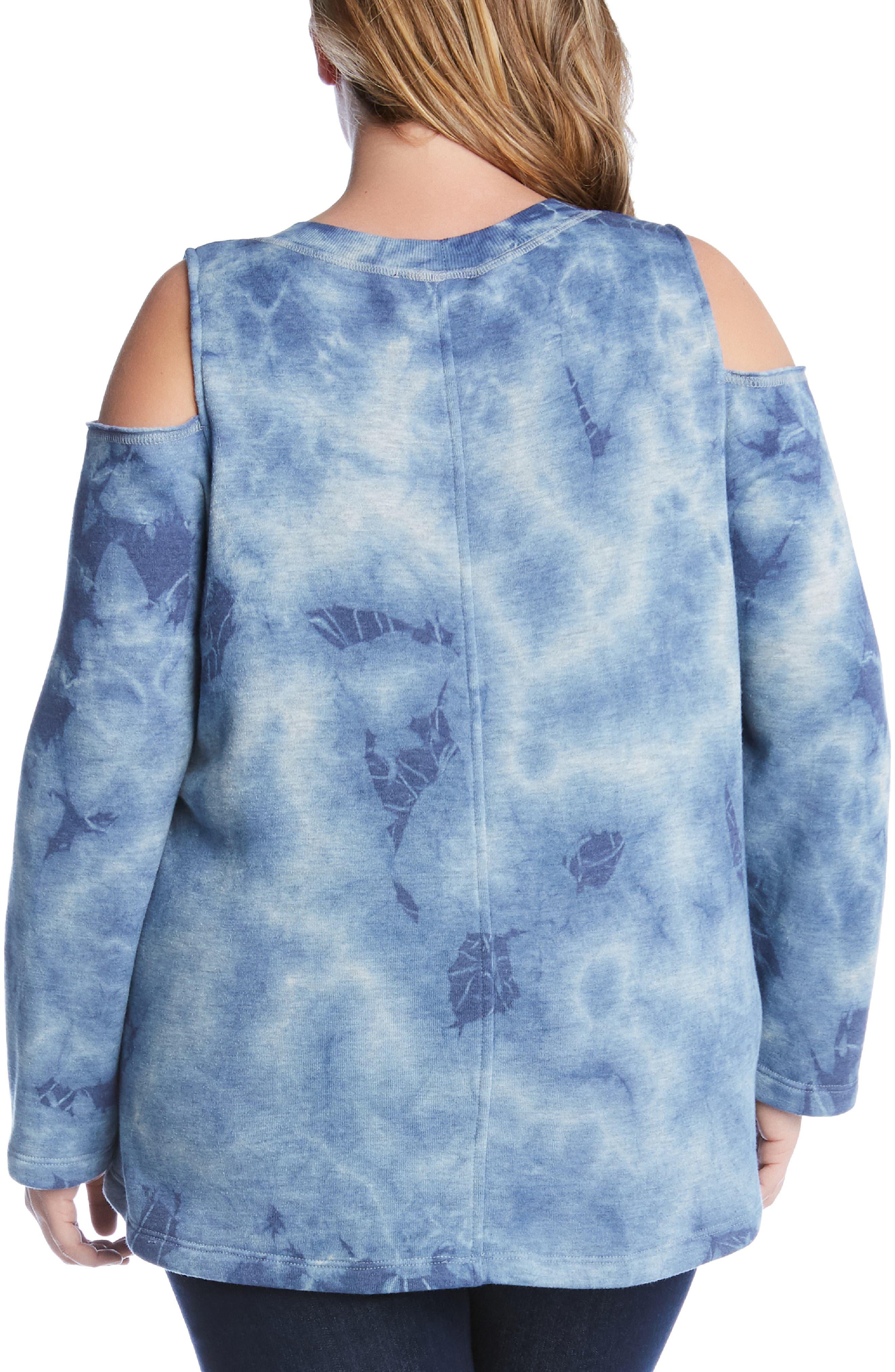 ,                             Cold Shoulder Sweatshirt,                             Alternate thumbnail 2, color,                             400