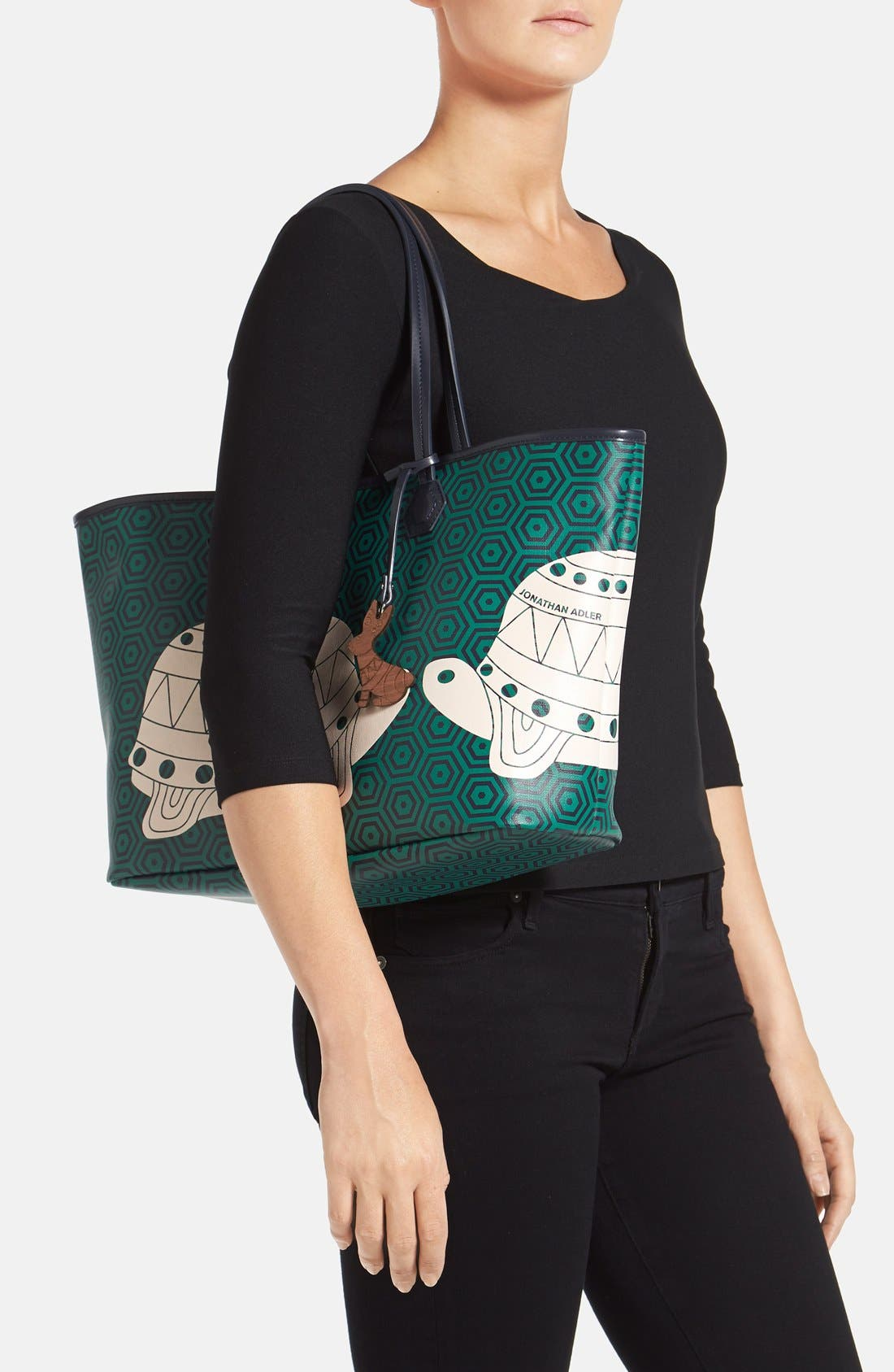,                             'Animal Duchess' Tote,                             Alternate thumbnail 3, color,                             364