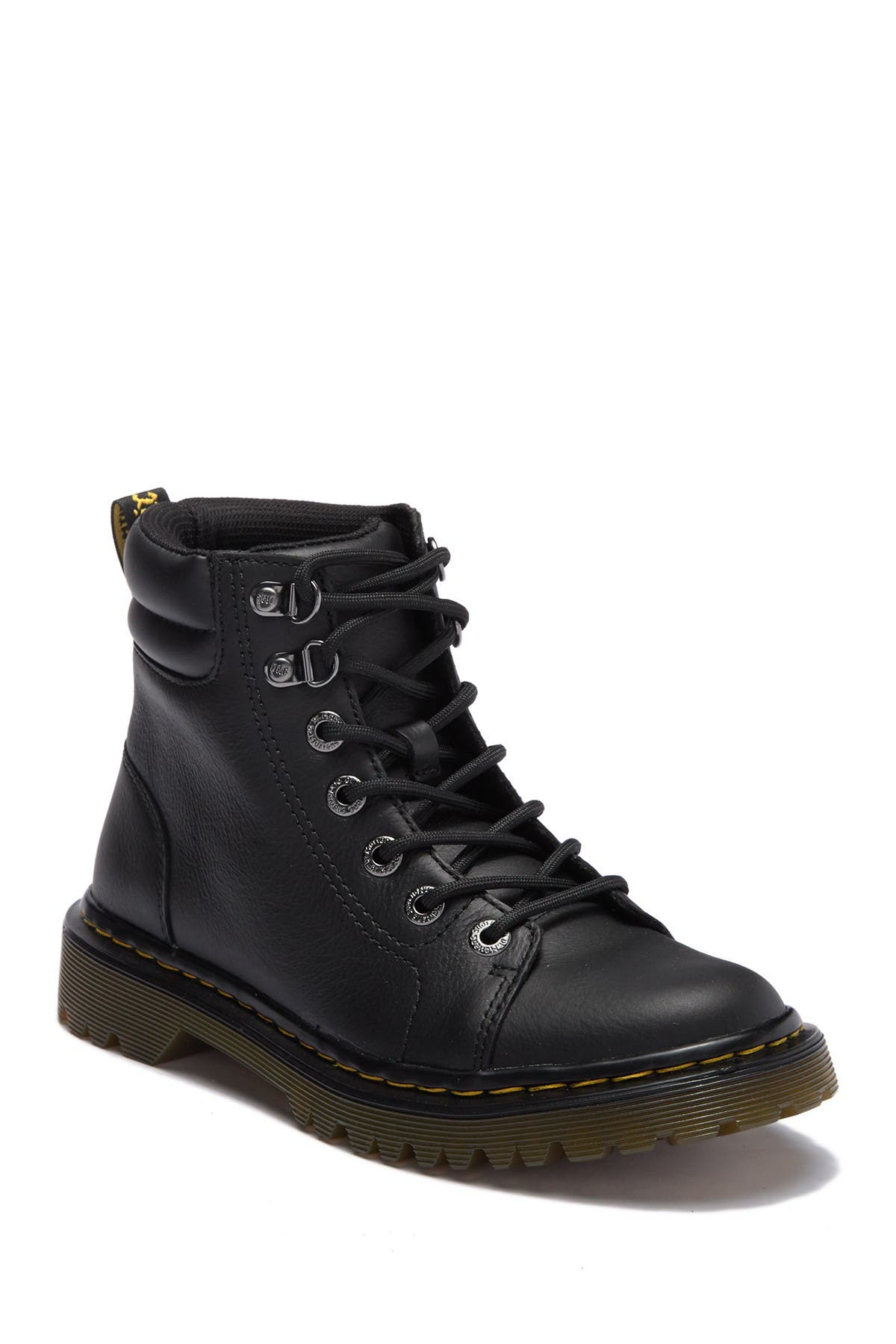Image of Dr. Martens Faora Mid Top Leather Boot