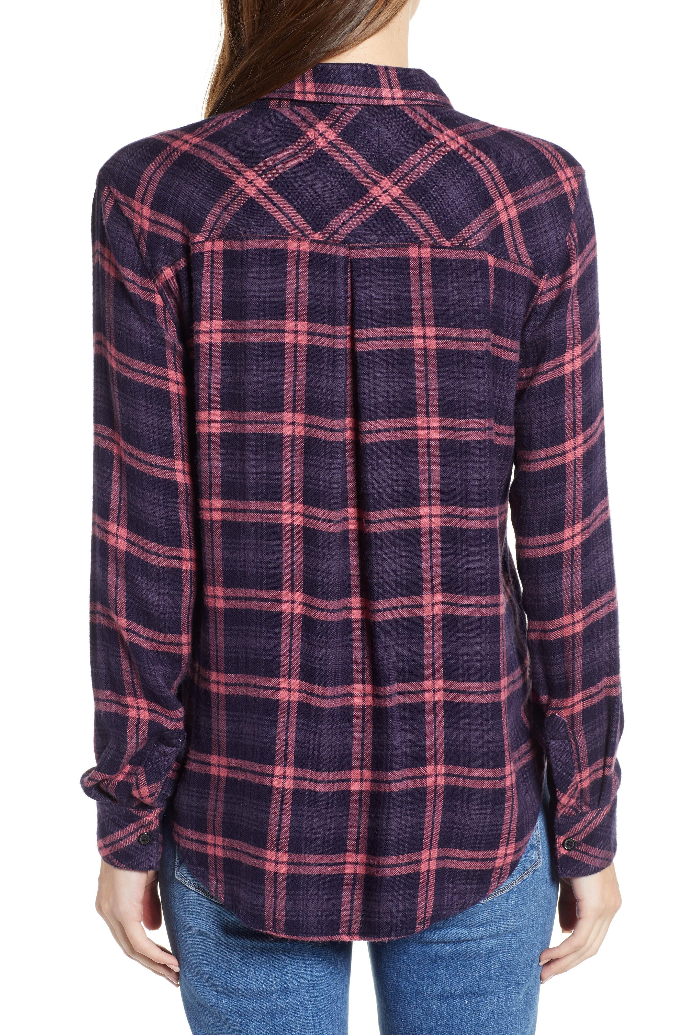 ,                             Hunter Plaid Shirt,                             Alternate thumbnail 389, color,                             493