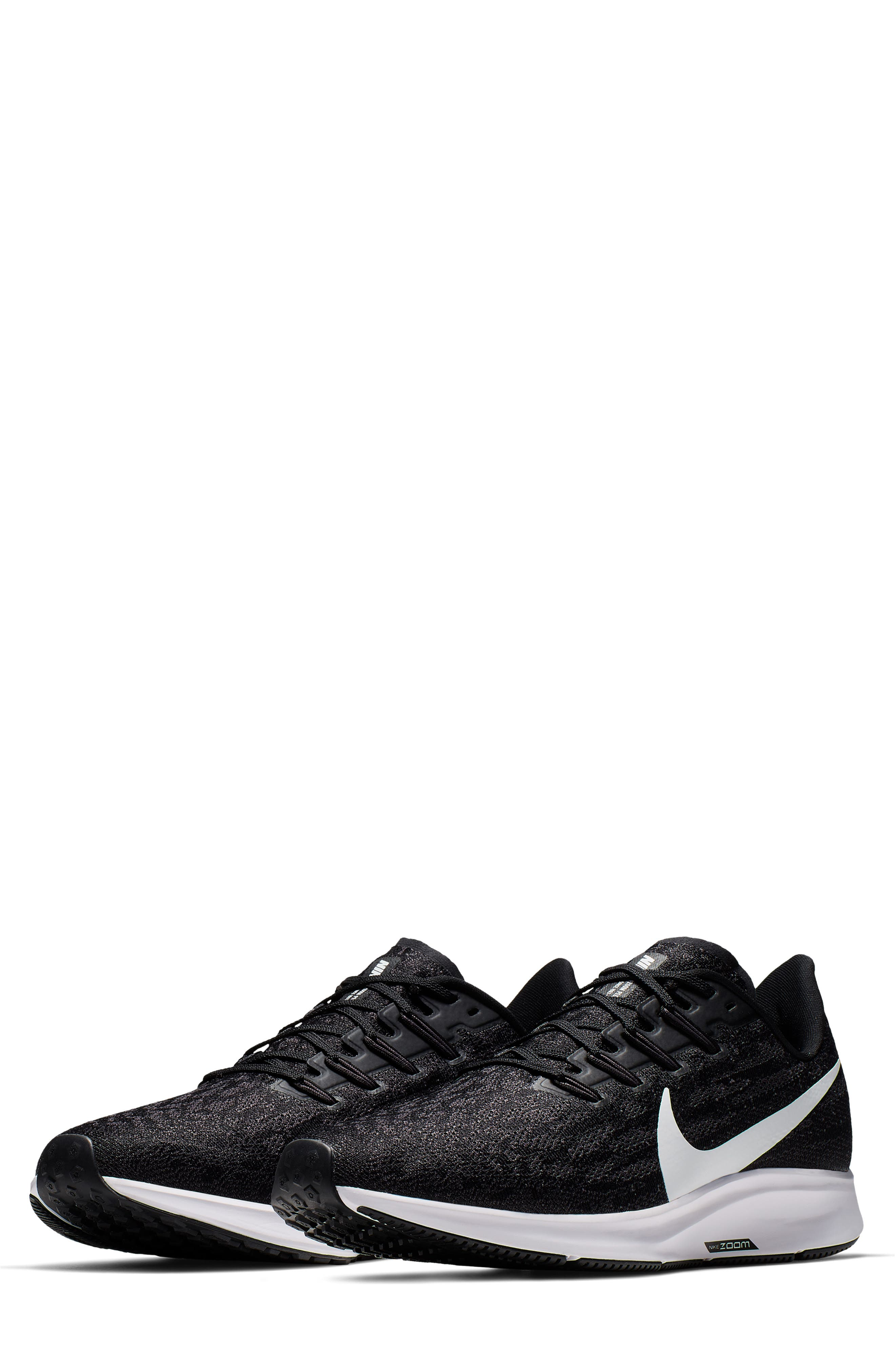 da84133791 Men's Nike Air Zoom Pegasus 36 Running Shoe, Size 8.5 D - Black