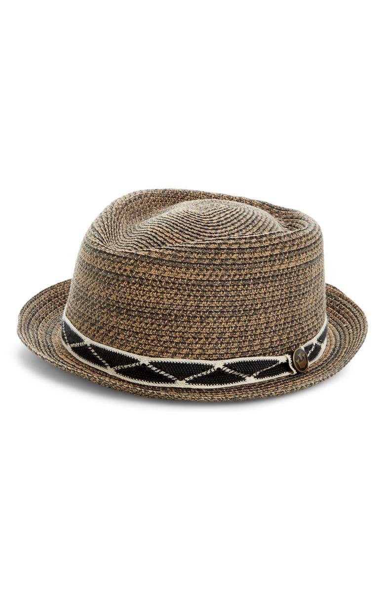 GOORIN BROS. Albuquerque Straw Hat, Main, color, 001