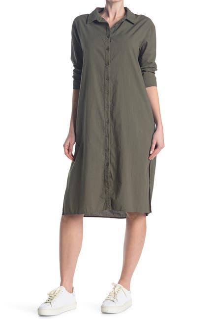Image of Stateside Poplin Shirt Dress