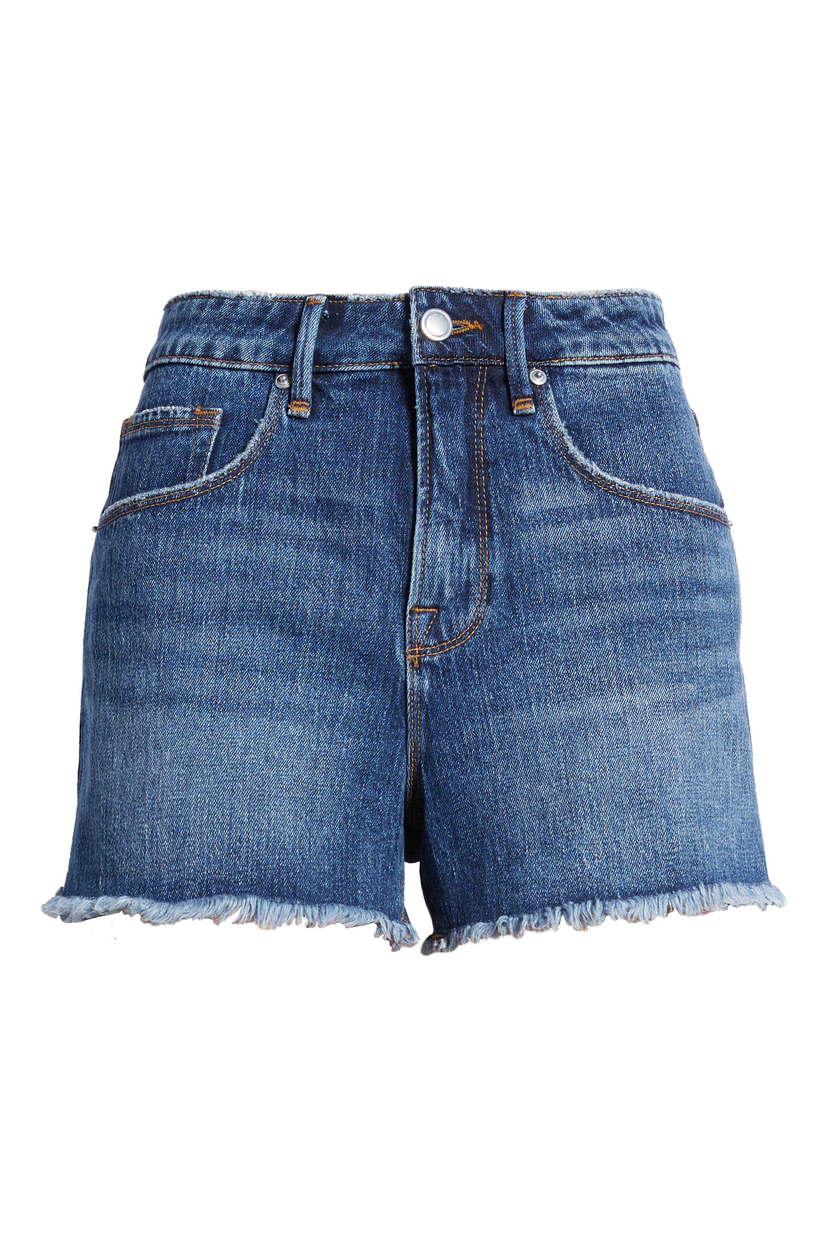 Plus Women's Good American Good Vintage Shorts
