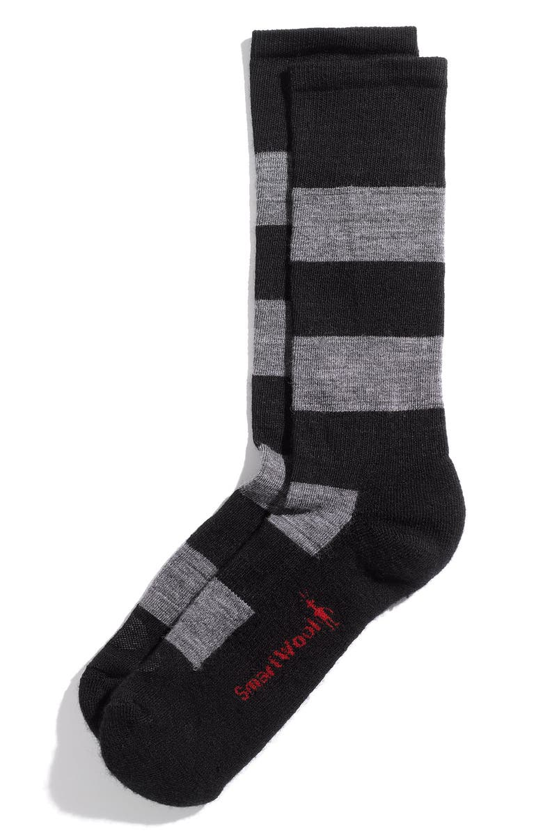 SMARTWOOL 'Double Insignia' Socks, Main, color, 001