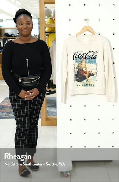 Coca-Cola<sup>®</sup> Crewneck Cotton Sweatshirt, sales video thumbnail
