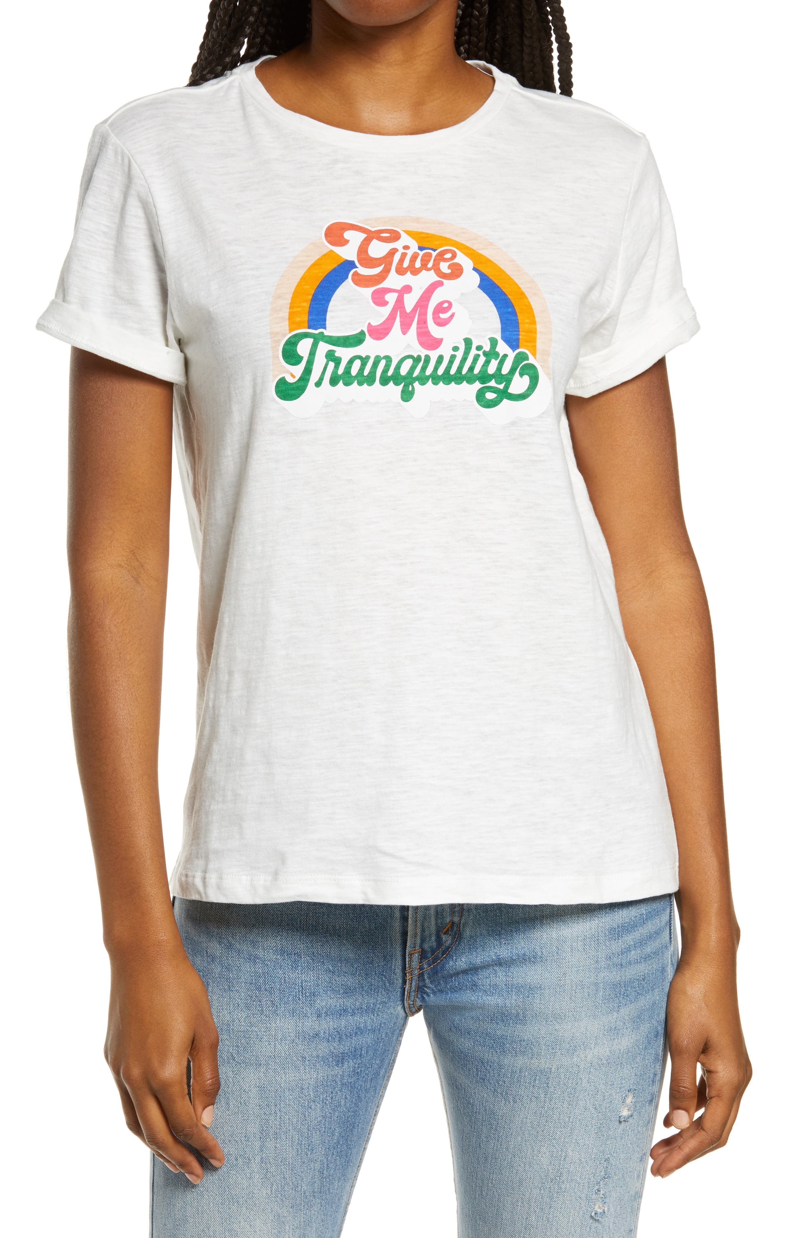 Women's Ban. do Give Me Tranquility Classic Graphic Tee