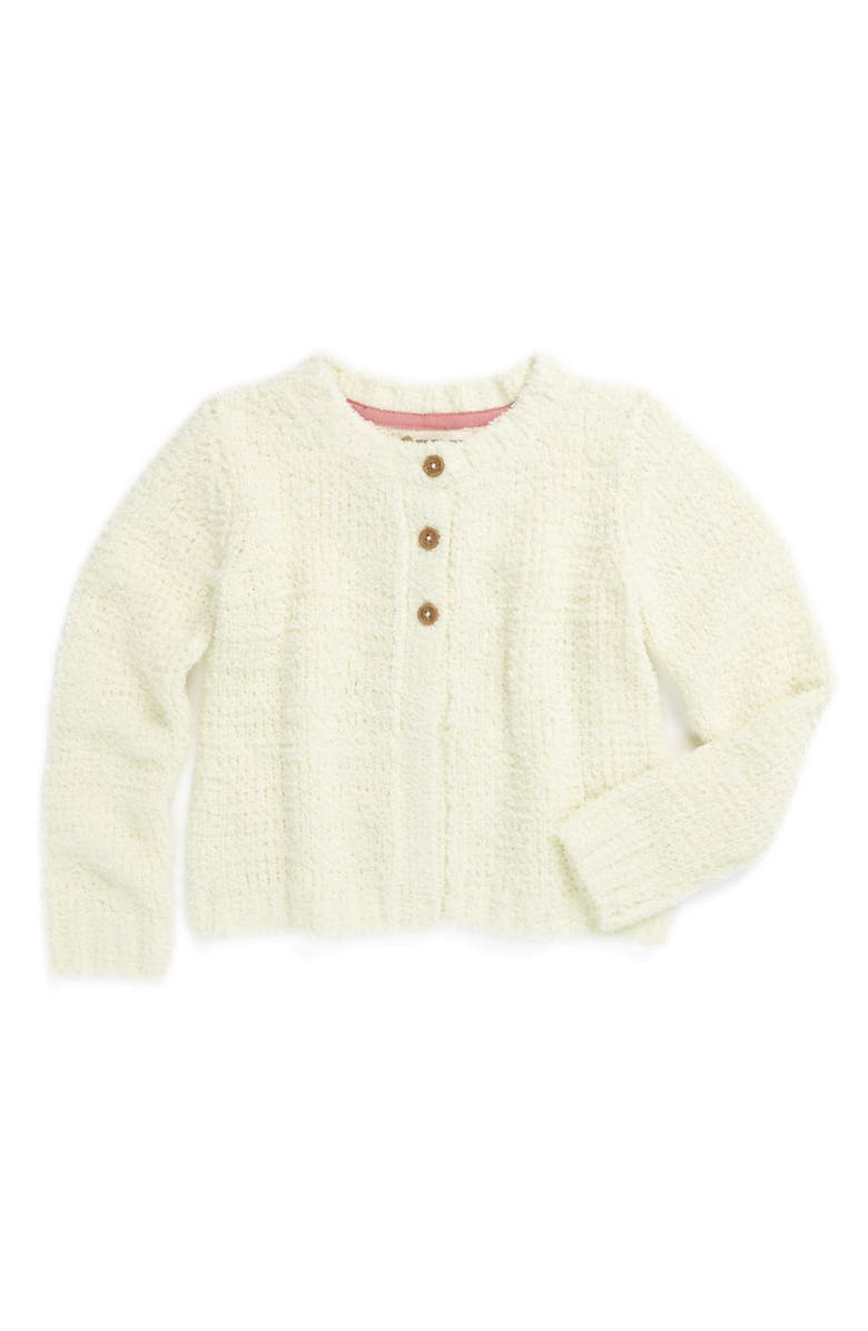 TUCKER + TATE 'Carly' Cotton Blend Cardigan, Main, color, 101