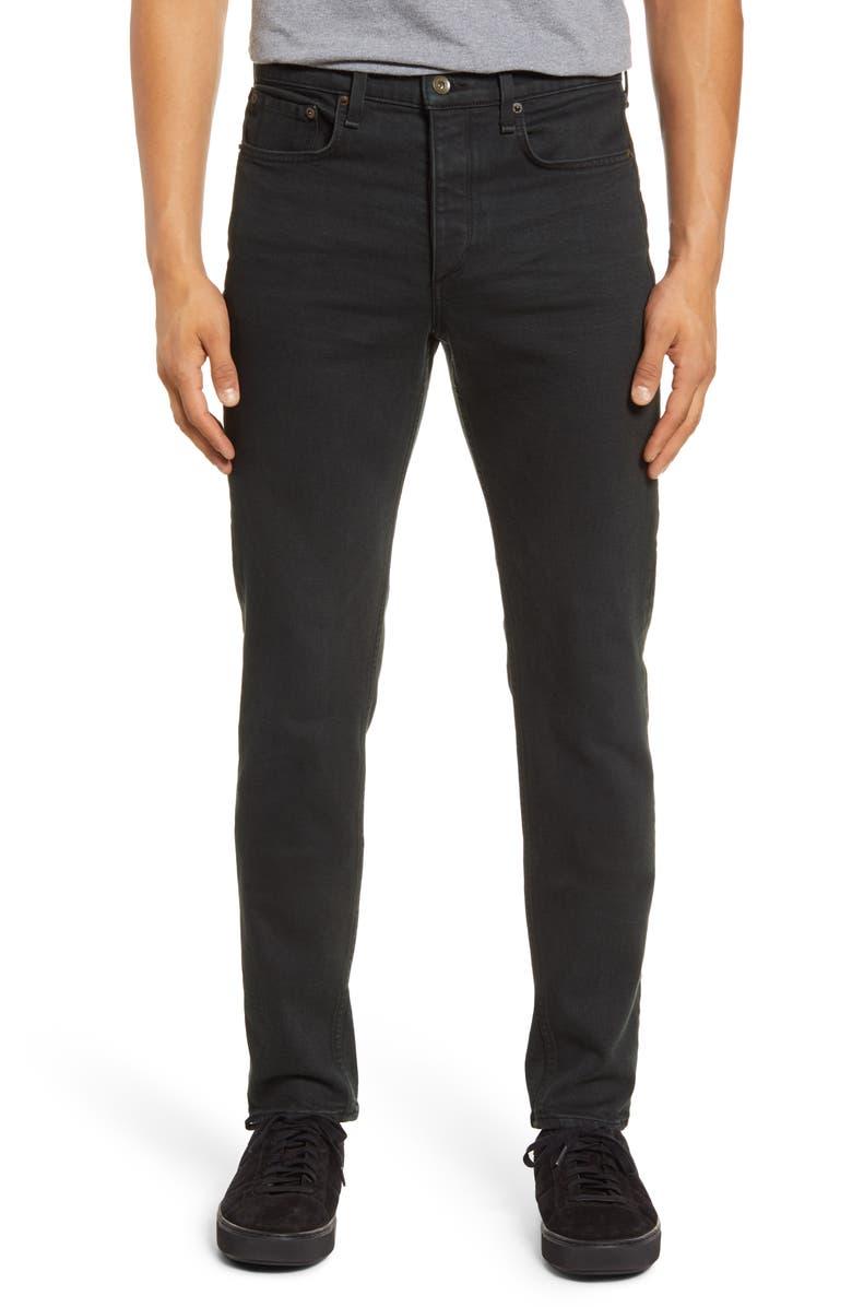RAG & BONE Fit 2 Slim Fit Jeans, Main, color, BLACKENED GREEN
