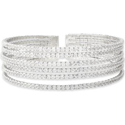 Cristabelle Multirow Crystal Bracelet