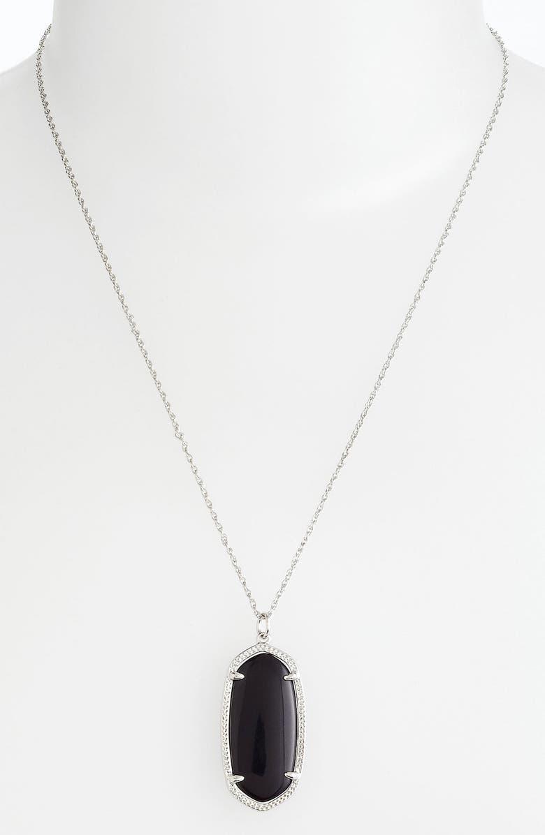 KENDRA SCOTT 'Elise' Pendant Necklace, Main, color, 001