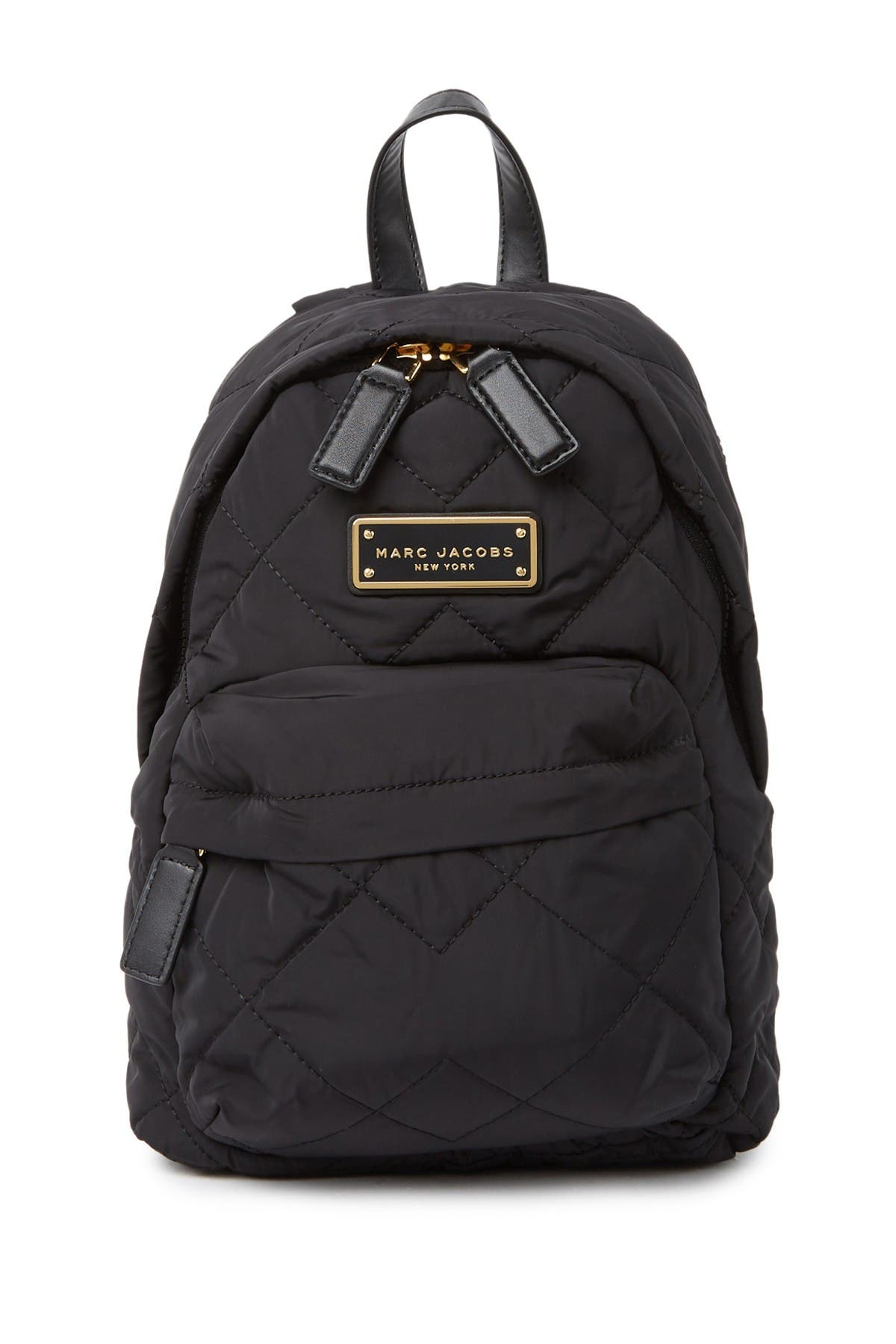 Image of Marc Jacobs Quilted Nylon Mini Backpack
