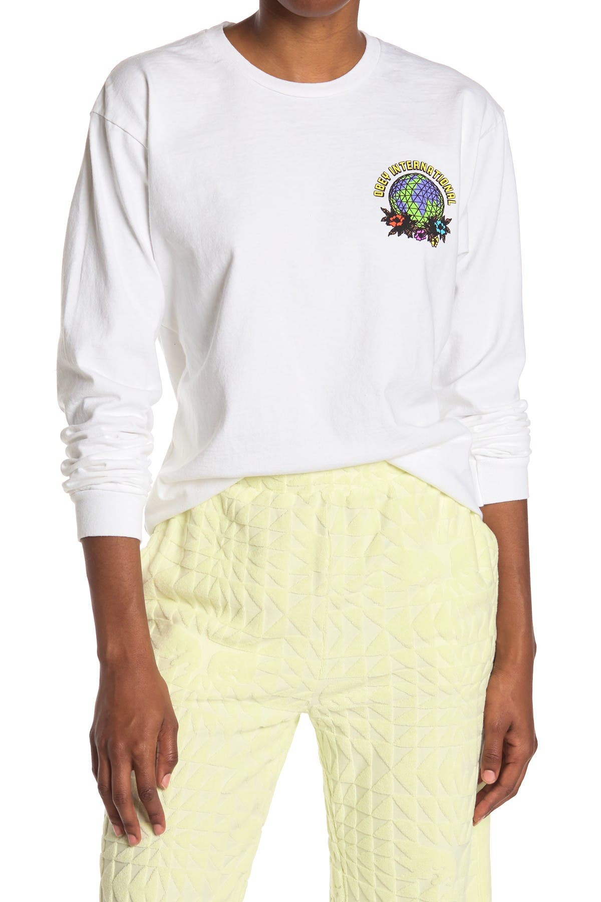 Image of Obey Take Back The Planet Long Sleeve T-Shirt