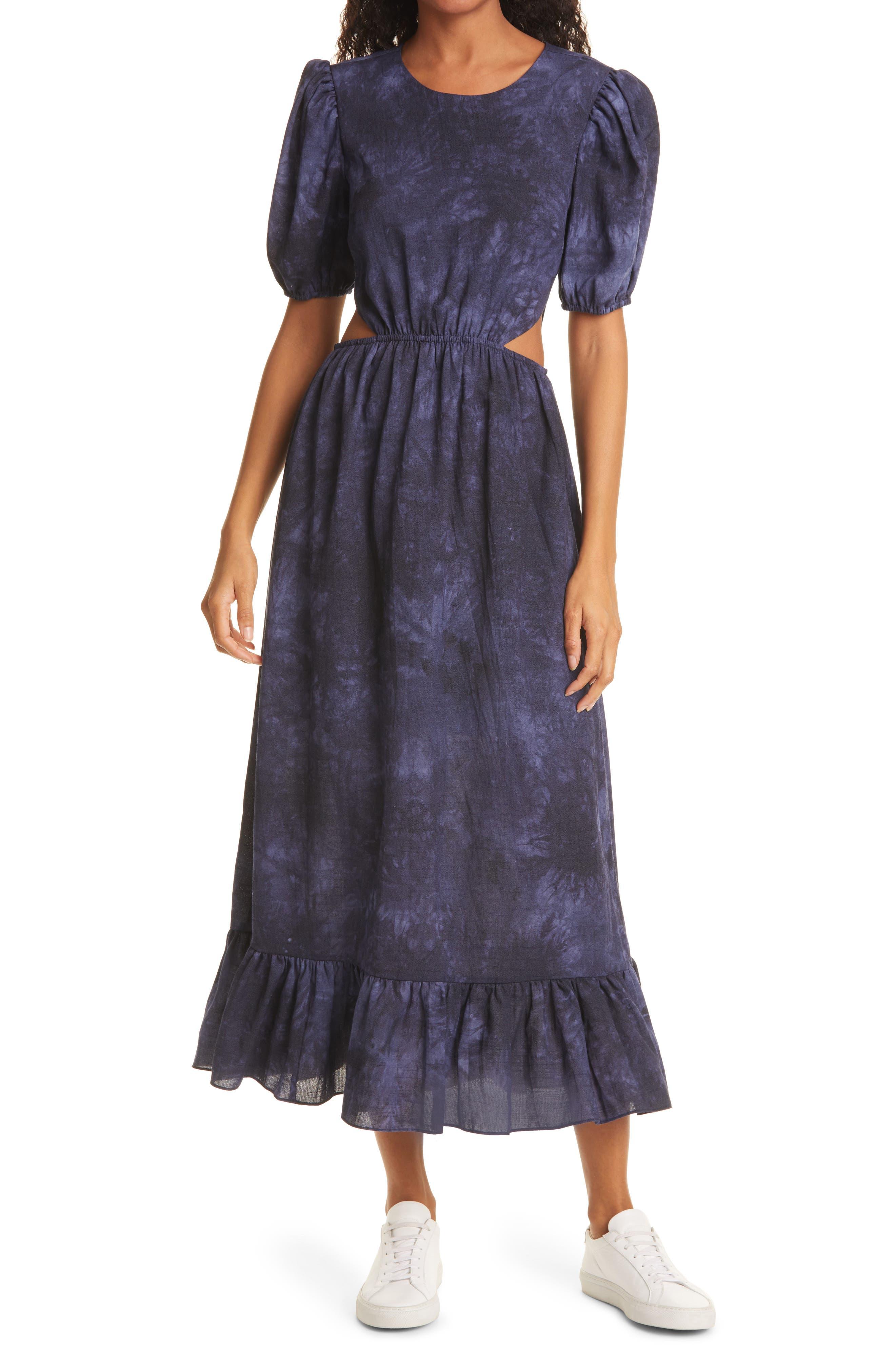Rosa Tie Dye Midi Dress