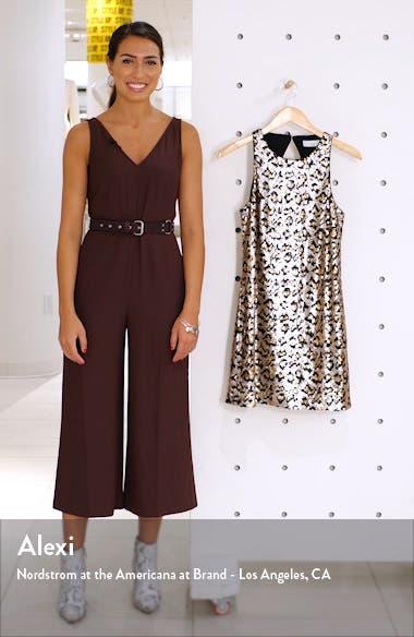 Rawr Leopard Sequin Minidress, sales video thumbnail