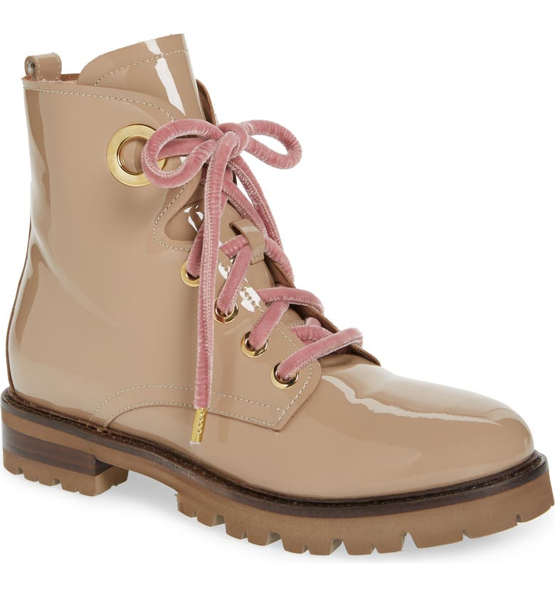AGL Combat Boot, Main, color, TAUPE PATENT