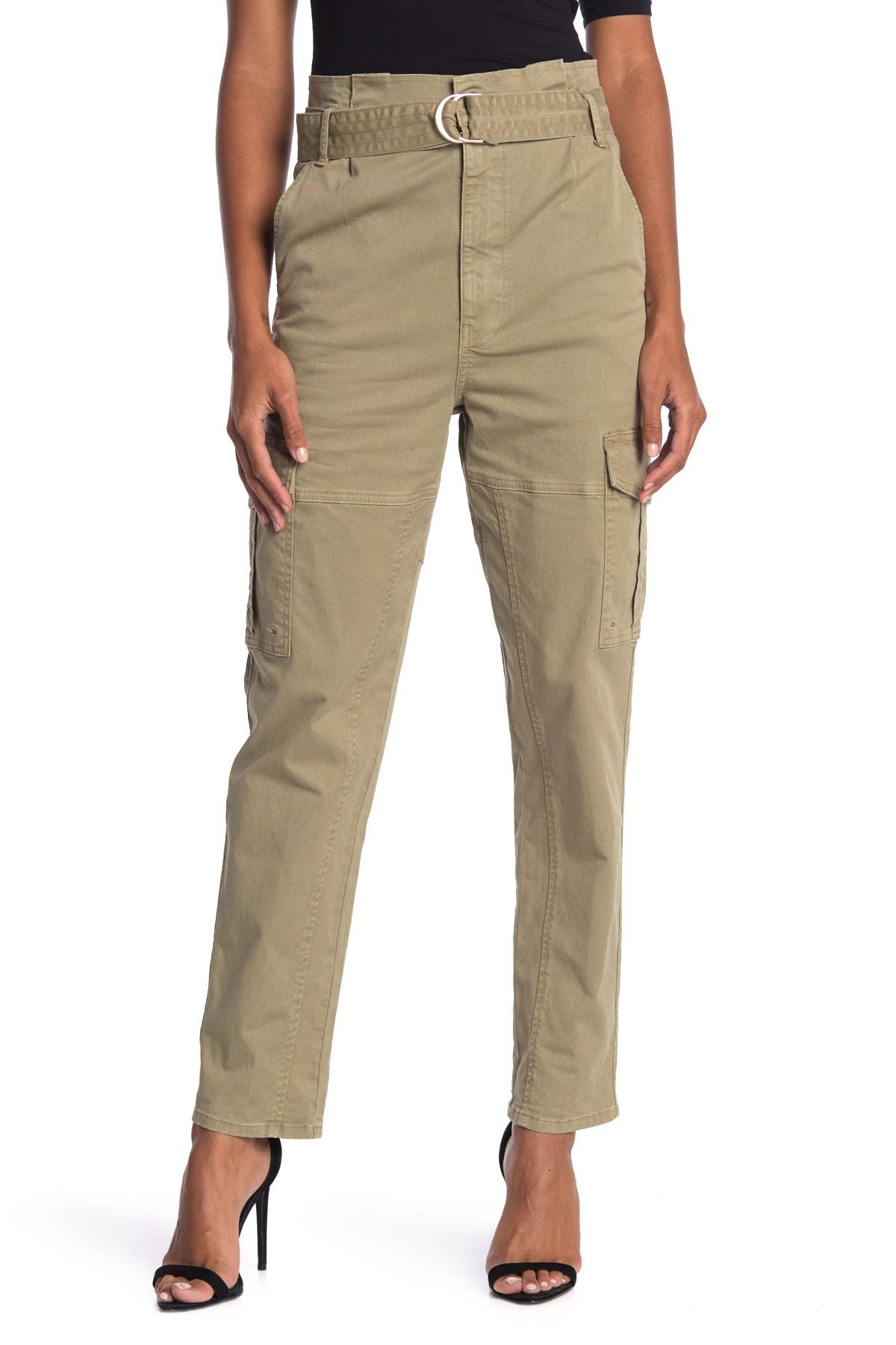 Image of FRAME Safari Belted Pants