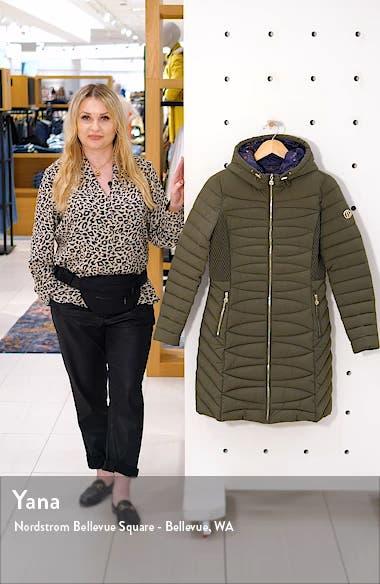 Bernado Packable EcoPlume<sup>™</sup> Hooded Walker Coat, sales video thumbnail