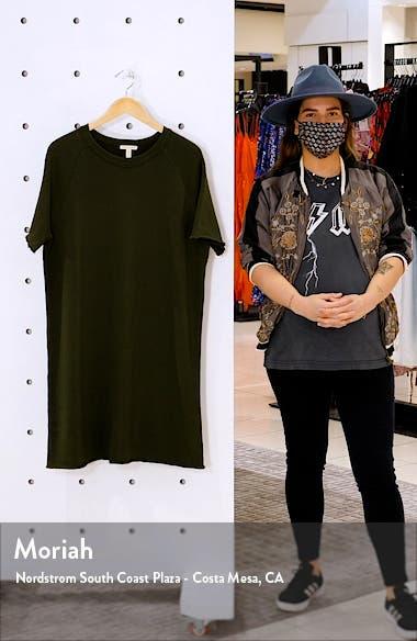 Raglan Organic Cotton Sweatshirt Dress, sales video thumbnail