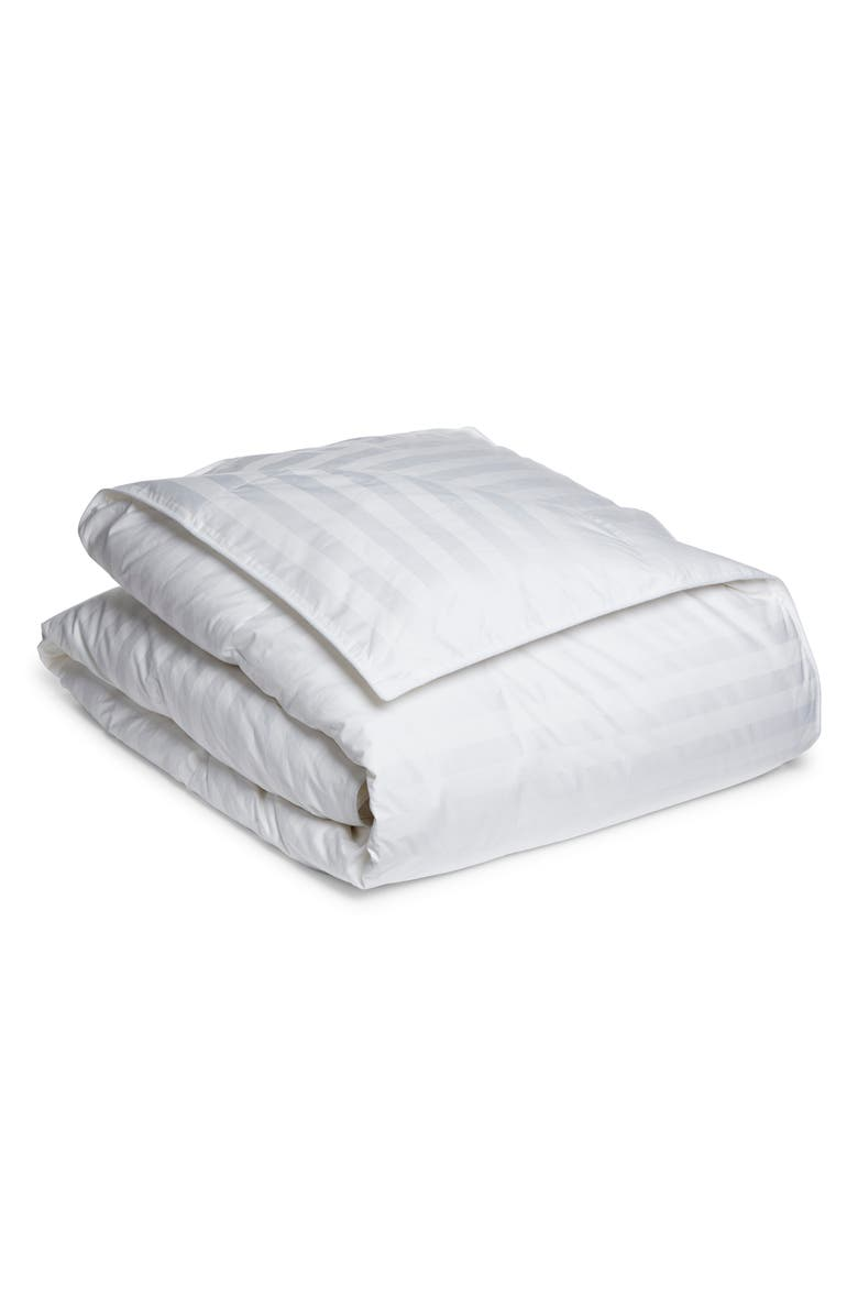 NORDSTROM AT HOME Luxe White Goose Down Comforter, Main, color, WHITE