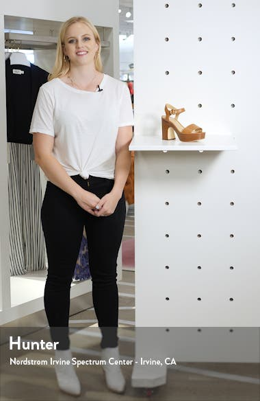 Fiona Platform Sandal, sales video thumbnail