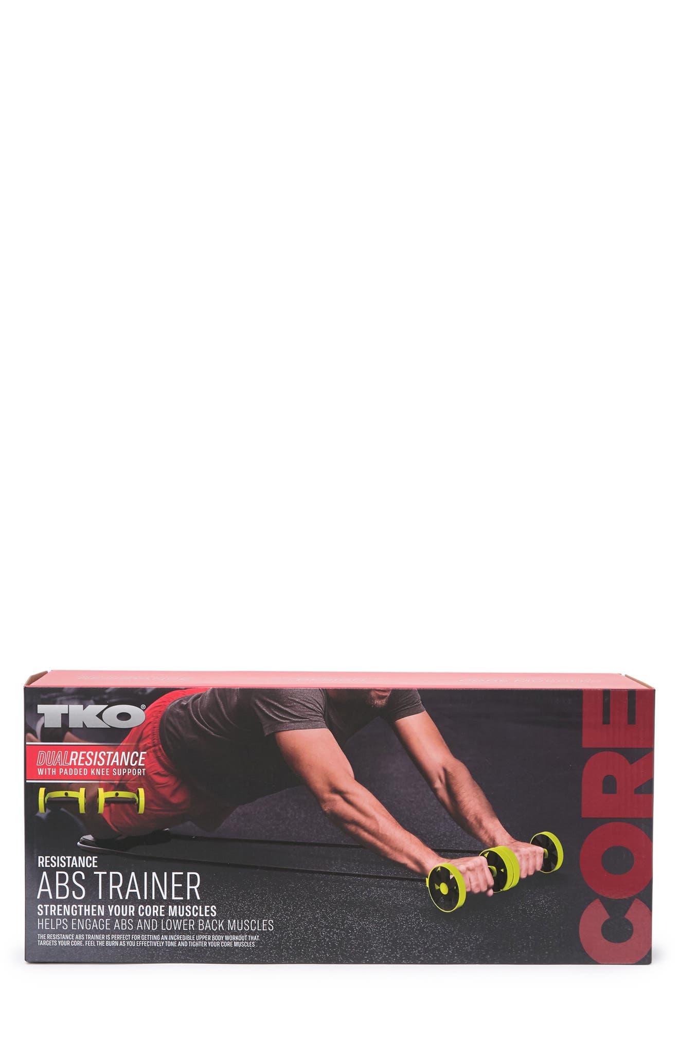 TKO Core Strength Training Ab Wheel