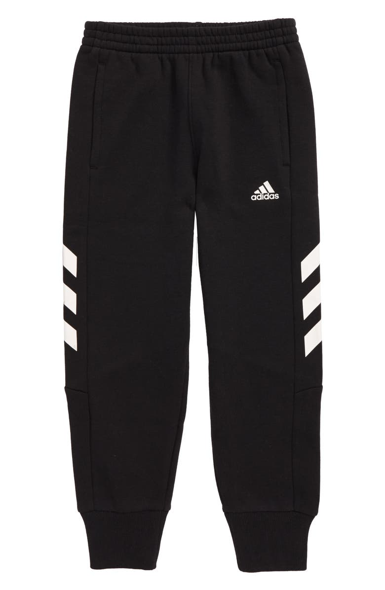 ADIDAS Sports Jogger Pants, Main, color, BLACK