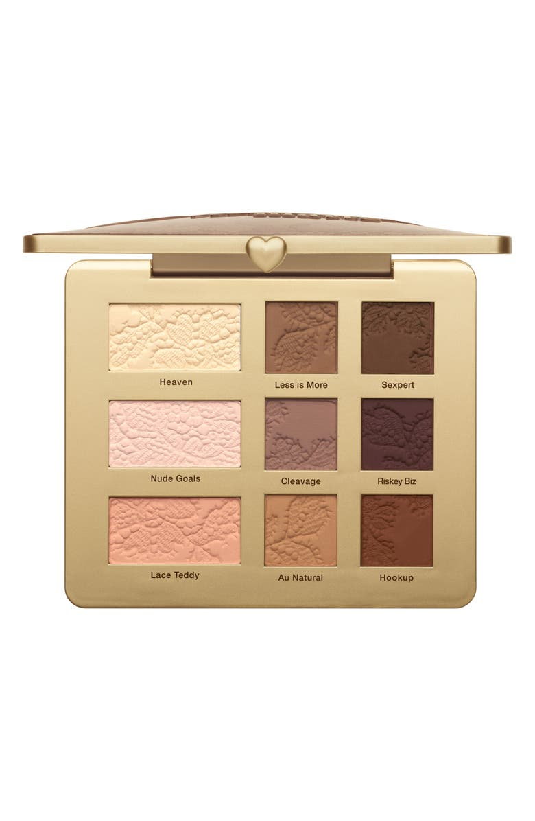 TOO FACED Natural Matte Eyeshadow Palette, Main, color, 000