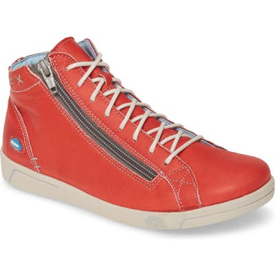 Cloud Aika High Top Sneaker, Red