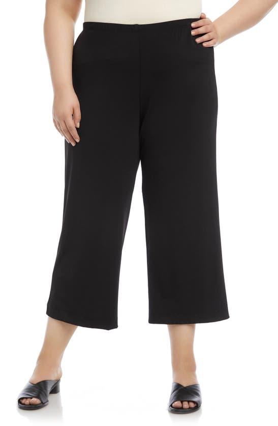Karen Kane Plus Size Pull-on Pants In Black