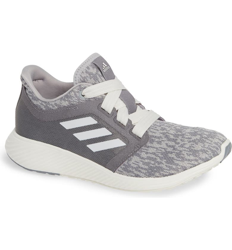 Edge Lux 3 Running Shoe, Main, color, GREY/ CLOUD WHITE/ SILVER