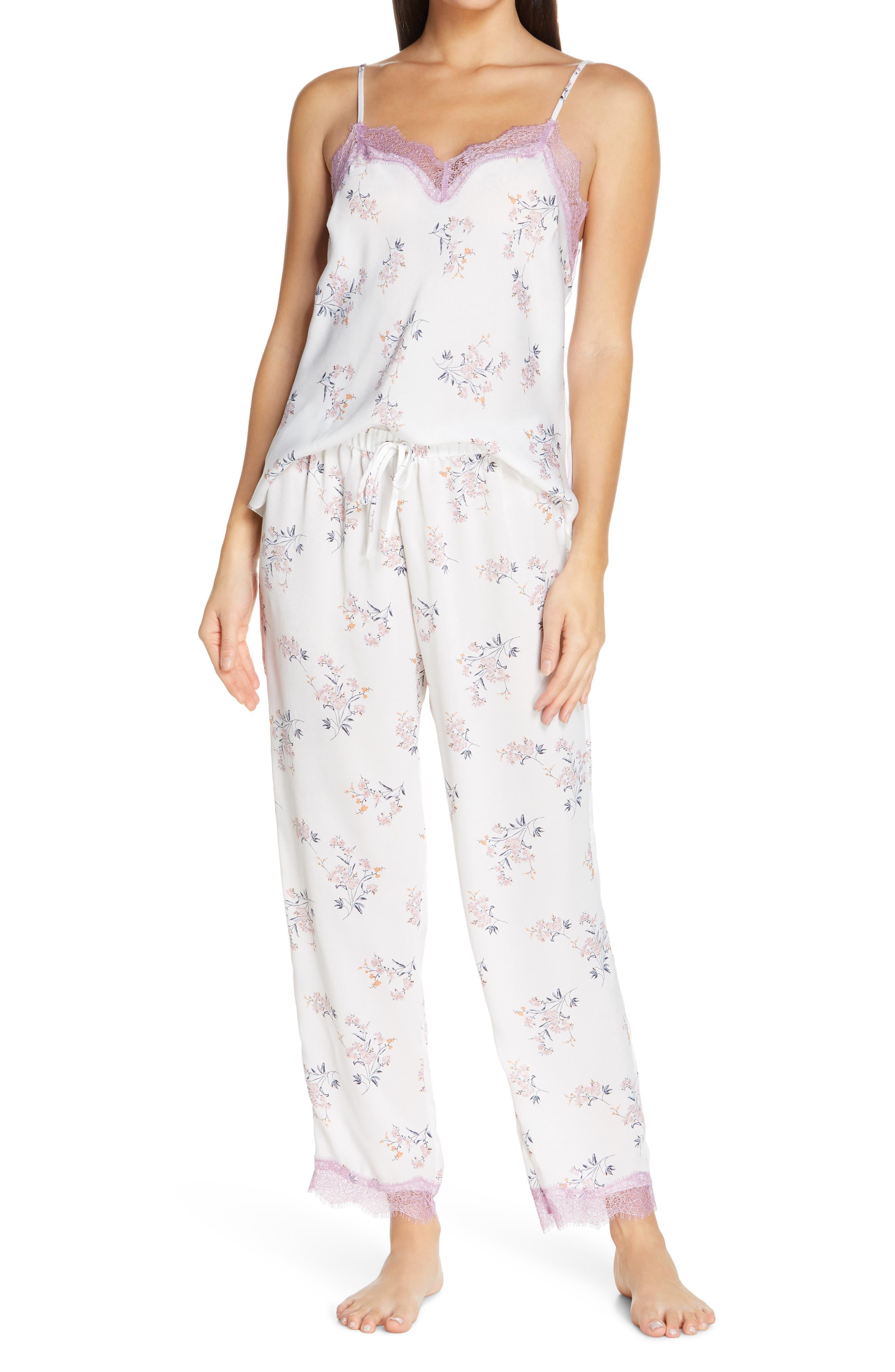 Washed Satin Pajamas