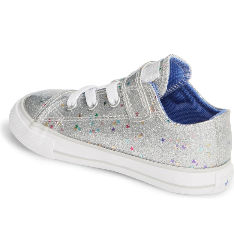 CONVERSE Chuck Taylor<sup>®</sup> All Star<sup>®</sup> 1V Glitter Galaxy Low Top Sneaker, Main, color, 040