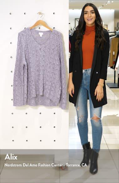 Brushed V-Neck Sweater, sales video thumbnail