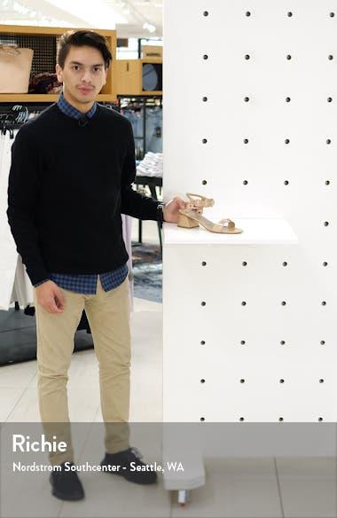 Grommet Quarter Strap Sandal, sales video thumbnail