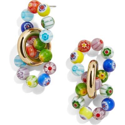 Baublebar Glass Bead Link Earrings